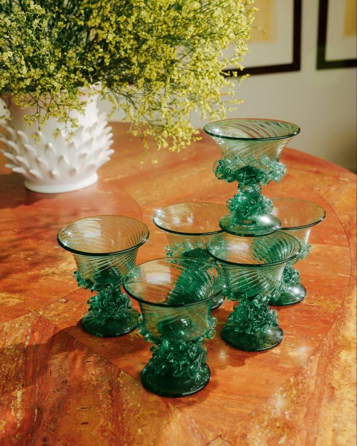 Glassware from Gordiola Glass in Palma de Mallorca