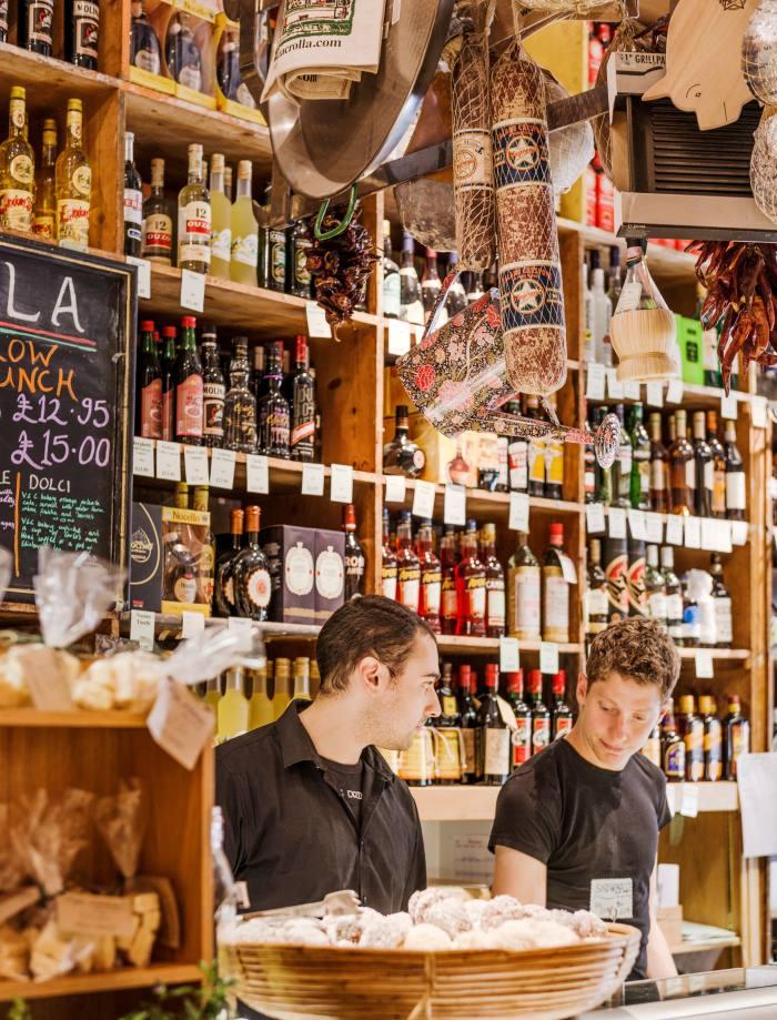 Valvona & Crolla: an Aladdin's cave of produce in Edinburgh