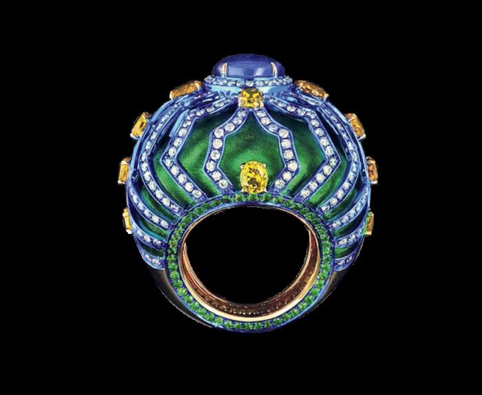 Austy Lee's Baroque Wool ring