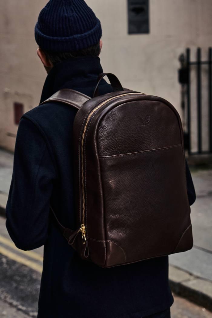 Bennett Winch leather backpack, £850