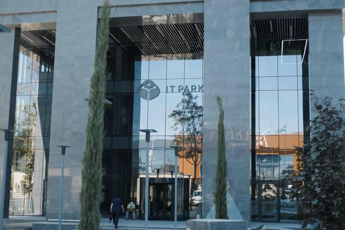 IT Park, a tech centre for tech companies and start up businesses in Tashken