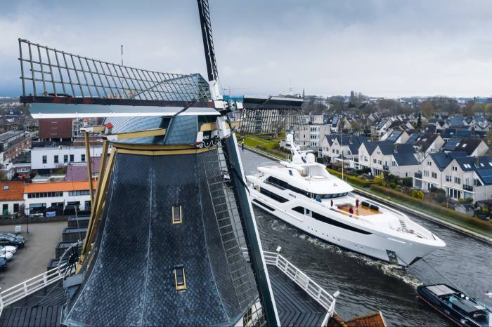 Somnium, launched this year by Feadship