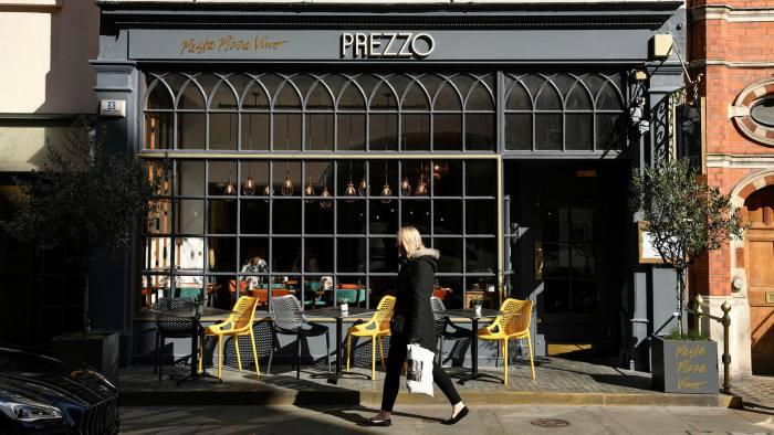 Prezzo: prepack administration then sold to a holding company
