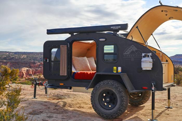Timberleaf Pika Teardrop Camper trailer, from $14,500