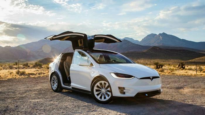 Electric car Tesla
