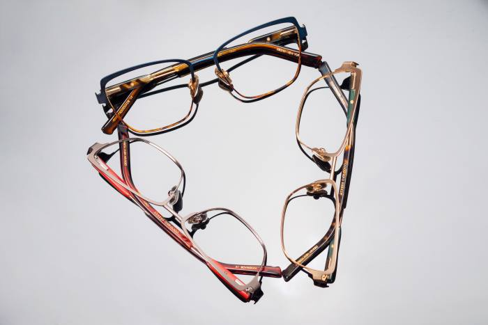 Coco and Breezy Familiar optical glasses, $249 each