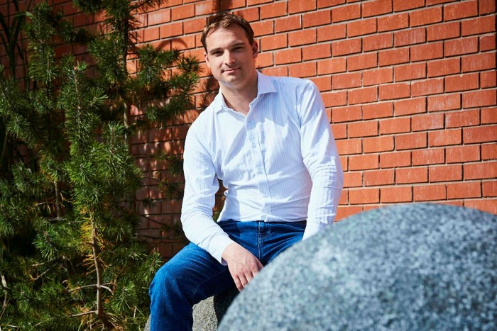 Frankfurt-based Thomas Hellwig says he likes the international outlook of London's Imperial College, where he is studying for an online MBA