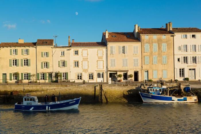 The harbour at Saint Martin de Ré, Ile de Ré