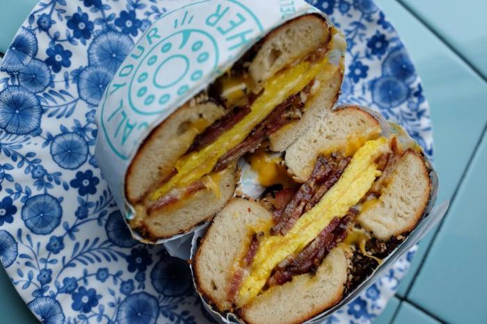 """""""All about the bagel sandwich…"""": Call Your Mother"""