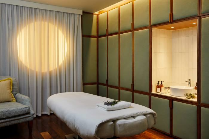 The hotel's wellness, spa and fitness spaces have just undergone renovation
