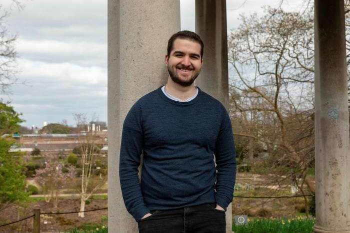 Portrait of Elliot Keen, a civil engineering graduate from Birmingham university