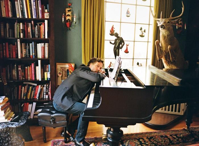 Rufus Wainwright at home in LA