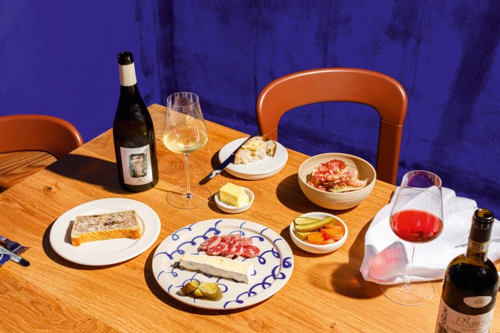 Modern French dishes by chef Sebastian Myers at Planque