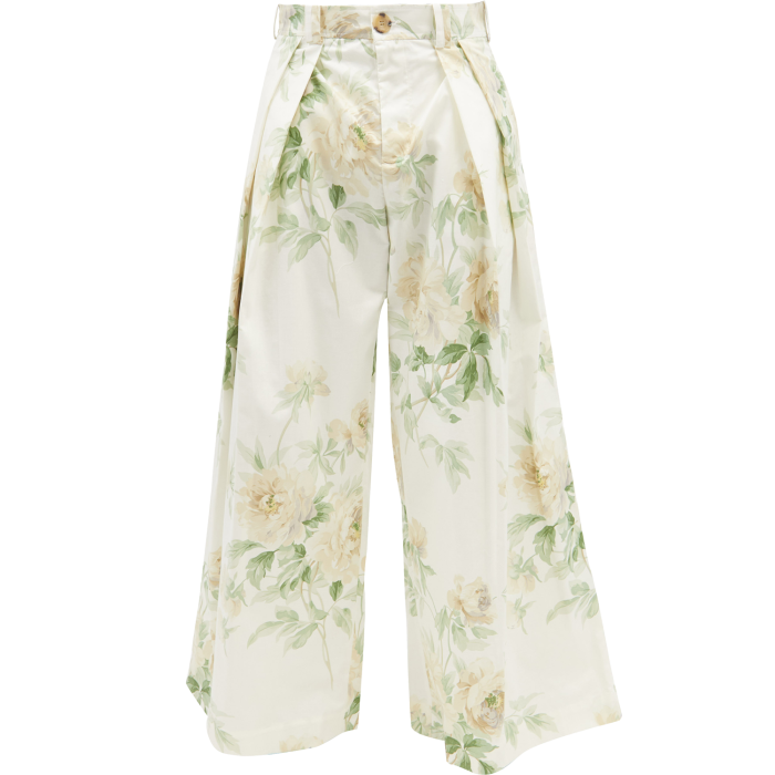 SS DALEY floral-print canvas Lambert trousers, £338, matchesfashion.com