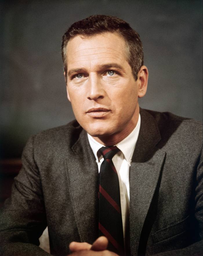 Paul Newman on the set of Torn Curtain