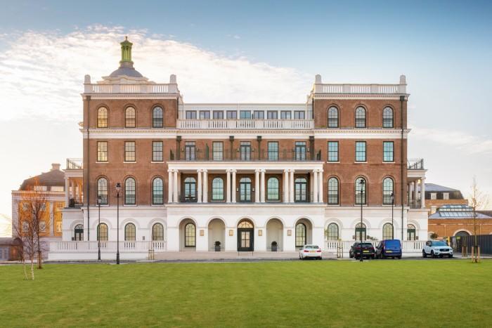 Poundbury, Dorset, athree-bedroom Royal Pavilion apartment is £1.7m through Savills