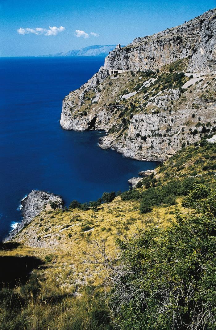 The Gulf of Policastro near Maratea, Italy