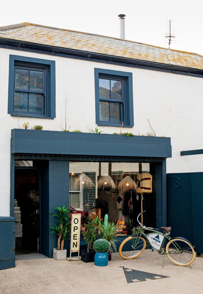 The Walshes bought the Newquay property – a former fish shop with a cottage attached – two decades ago