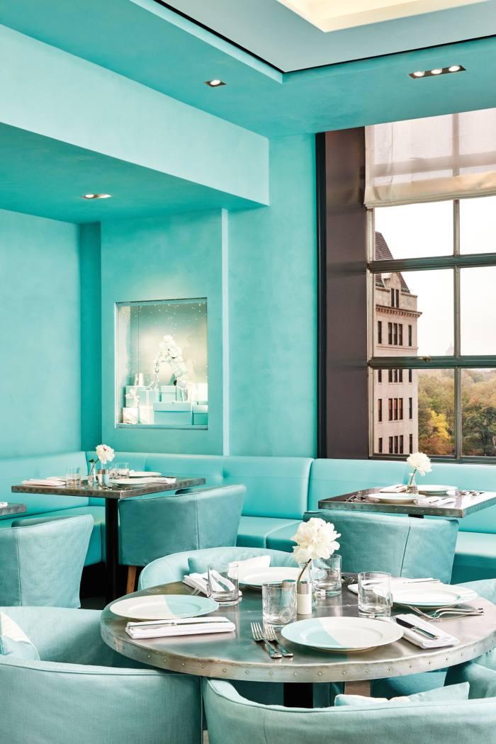 TheTiffany Blue Box Café in New York
