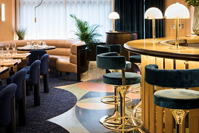 Folie hopes to draw a well-heeled crowd to Golden Square with opulent interiors and Mediterranean cuisine