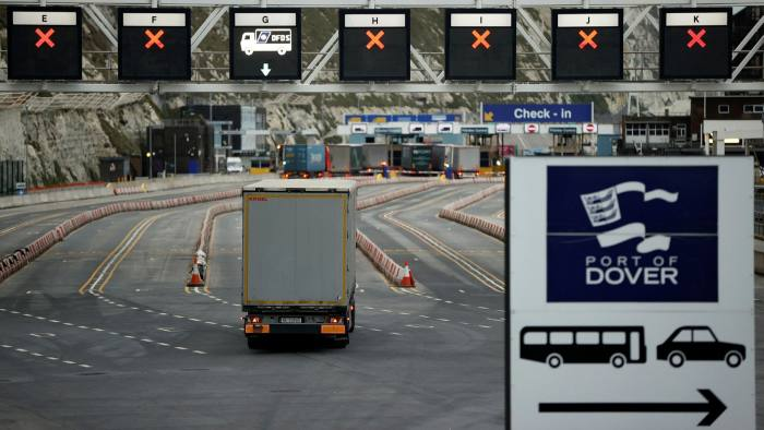 The government says use of consultants helped ensure border systems were in place for the end of the transition period