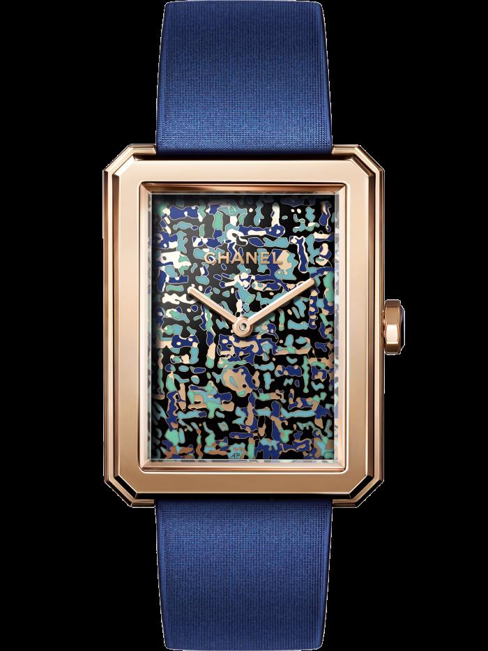 Chanel Boy.Friend Tweed Art watch, POA