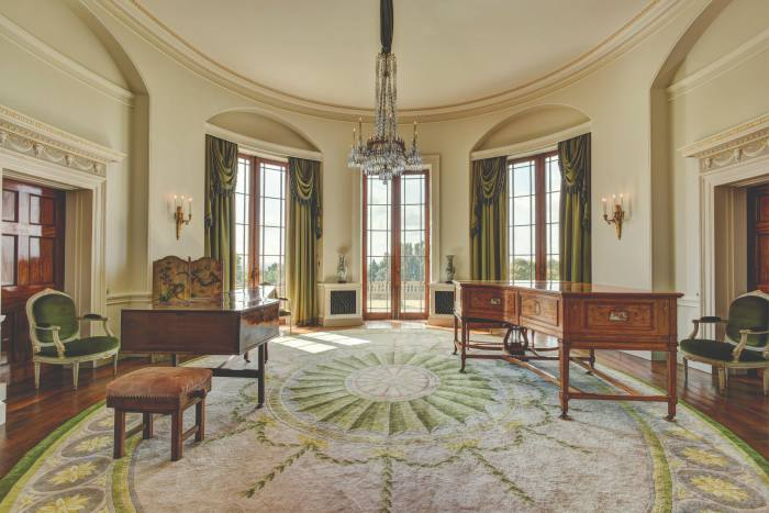 A music room at Bowden Park