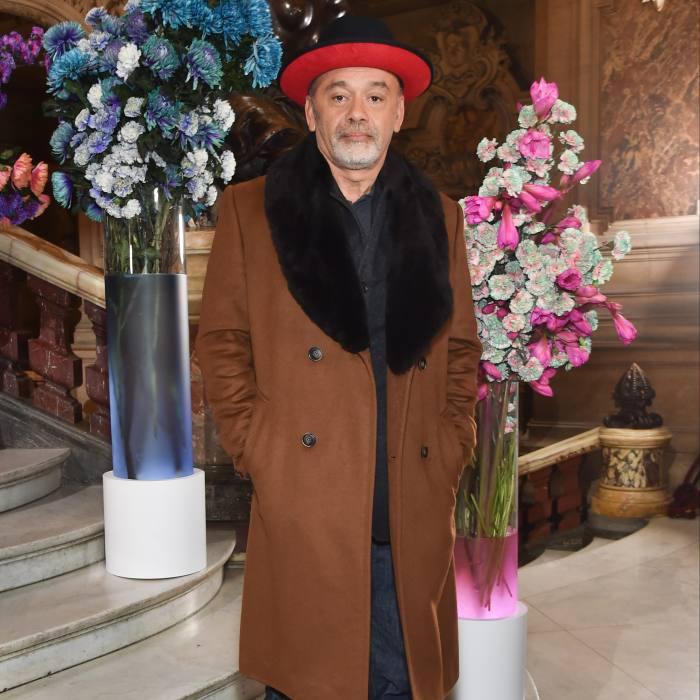 Louboutin at Paris Fashion Week, January 2020