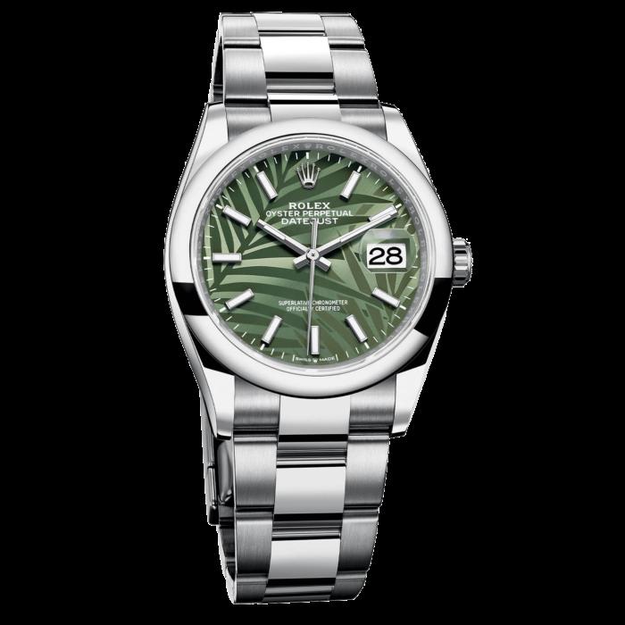 Rolex's palm-leaf patterned Datejust 36