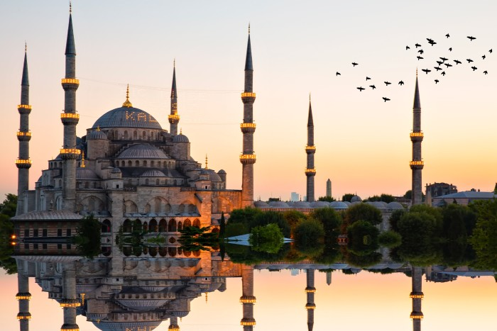 Halas 71 will take in over three millennia of Turkish history, including Istanbul's Blue Mosque