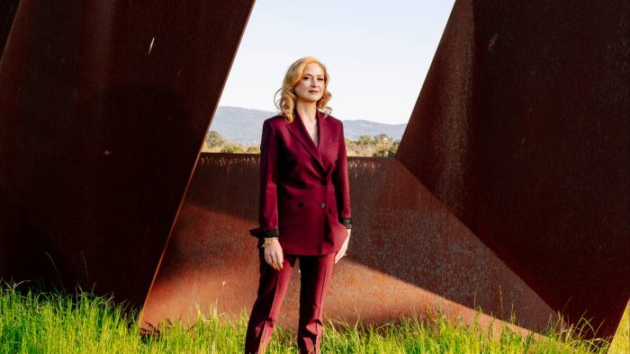 Clients want measurable returns says Decoded's Kathryn Parsons, pictured at Runnymede Sculpture Farm, run by her husband's family in California.