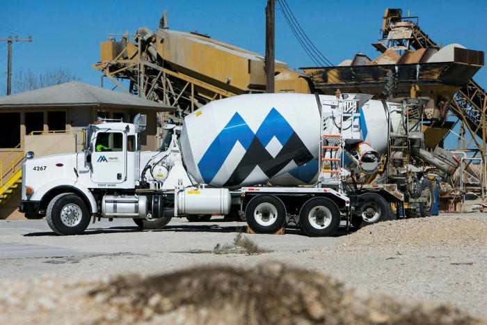 Rebuilding roads in San Antonio, Texas