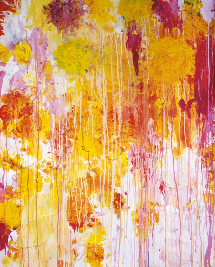 Untitled, 2001, by Cy Twombly