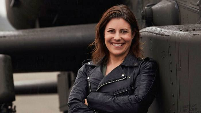 Shannon Huffman Polson is one of the first women to fly an Apache for the US army