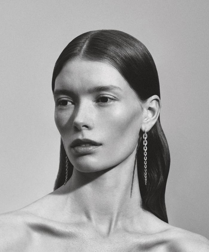 Sophie Bille Brahe yellow-gold and diamond Georgia Grande earrings, POA