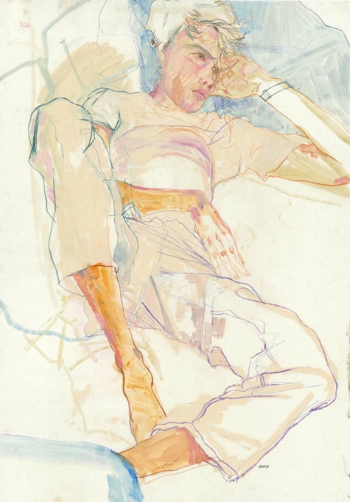 Wes Gordon (Lying Down), 2009-10