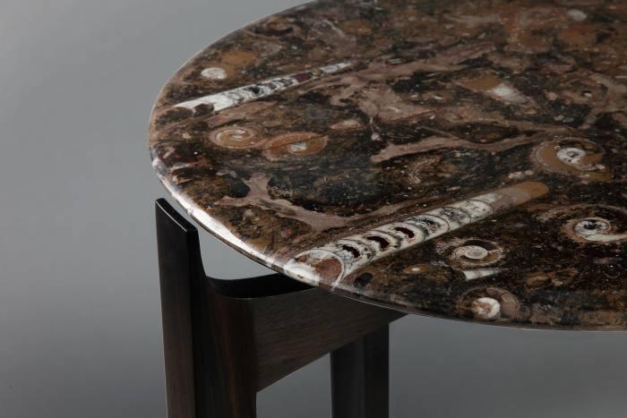 Richard Williams Furniture Moroccan bog oak fossil occasional table, £2,575