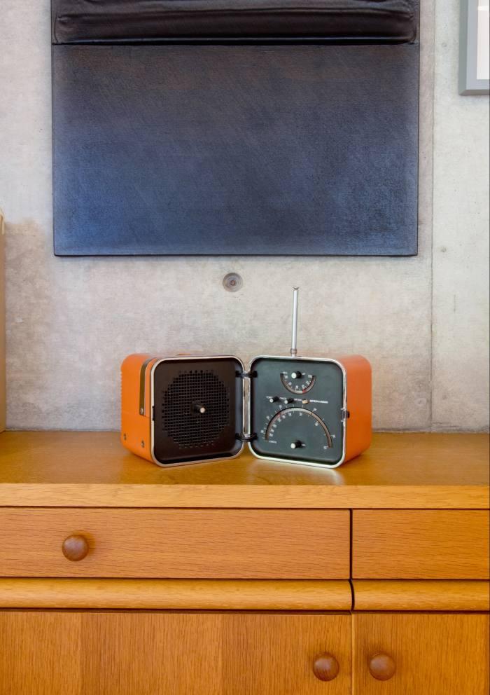 A radio by Italian architect and designer MarcoZanuso