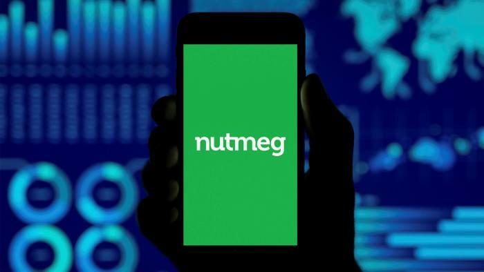 The Nutmeg app on a phone