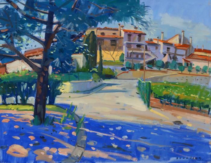 Shady Pines Cosprons Provence, 2008, by Glen Scouller, one of the works donated to Maggie's Art Extravaganza at Lyon & Turnbull