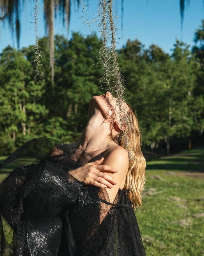 Alexander McQueen Chantilly lace dress, POA
