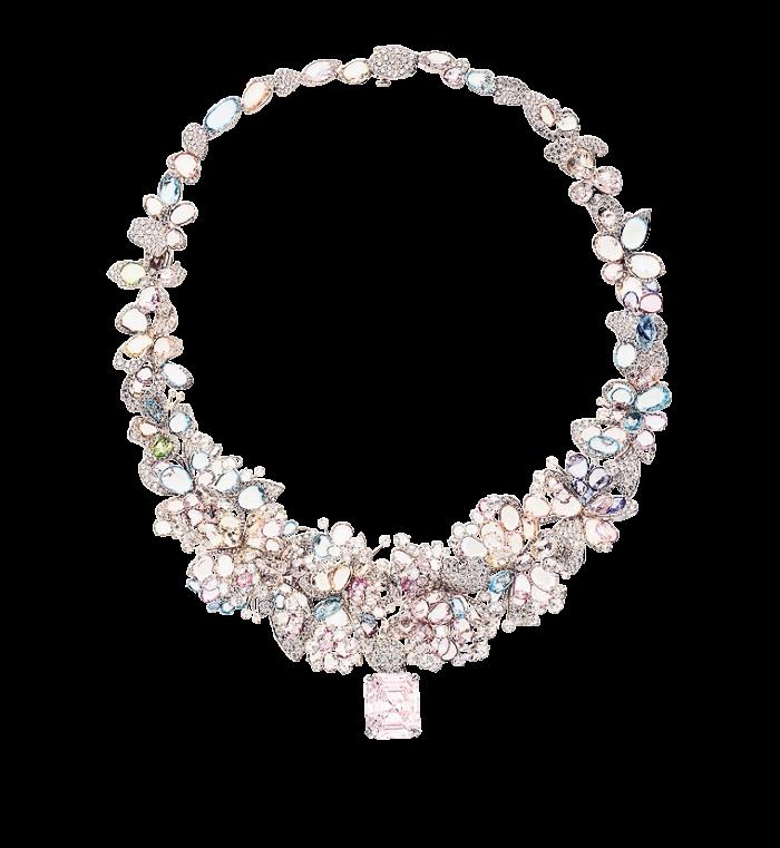 Feng J's Les Jardins de Giverny necklace