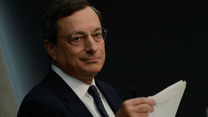 Mario Draghi: effectively ended the euro crisis in 2012 by promising to do 'whatever it takes' as president of the European Central Bank