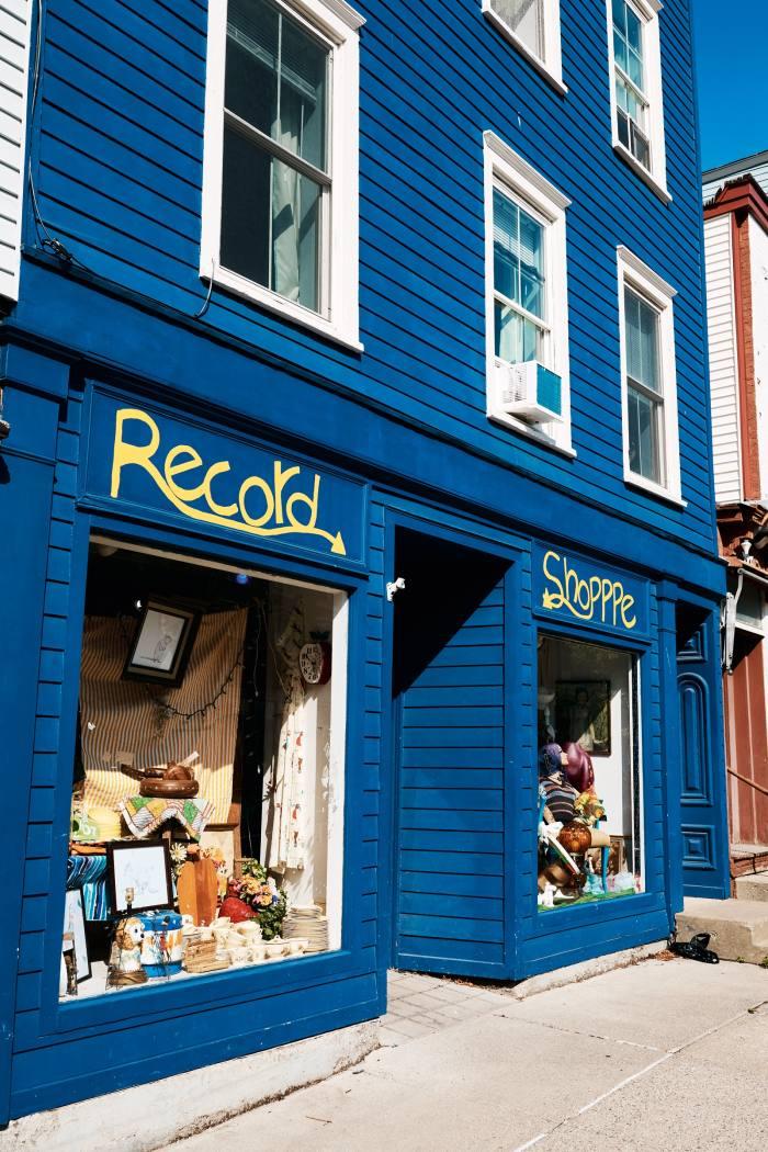 John Doe RecordShop on Warren Street, Hudson