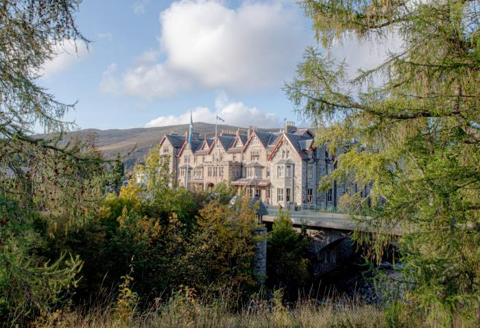 View of The Fife Arms Hotel