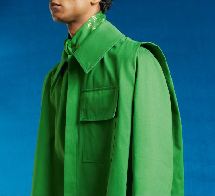 Green Trenches jacket, £660