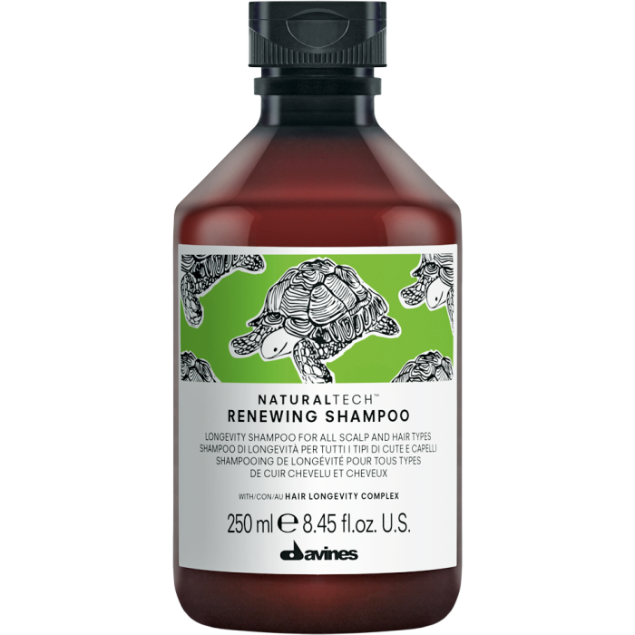 Davines Natural Tech Renewing Shampoo, £17.50, libertylondon.com