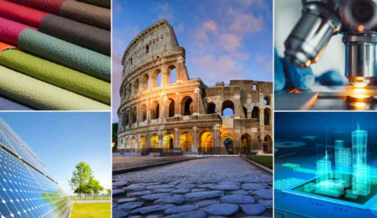 Promotional image for the event 'Made in Italy: Setting a New Course' presented by FT Live